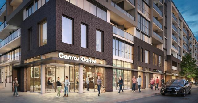 A closer look at the design of Canvas Condominium Image