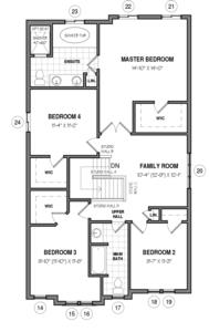 The Elmsgate IV A Floorplan 2
