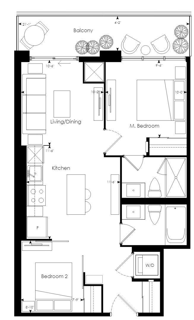 Tower 10 Floorplan 1