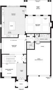 Brentwood Floorplan 1