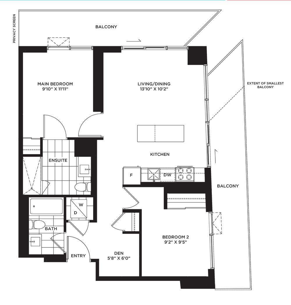The Paisley Floorplan 1