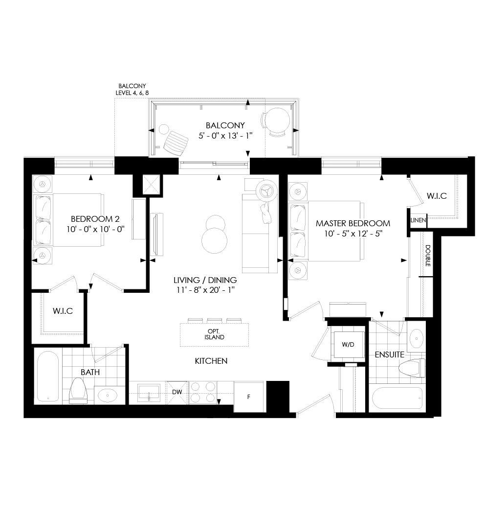 2B-D Floorplan 1