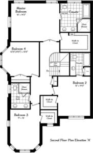 The Windermere 12 Floorplan 2