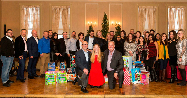 Kylemore's annual holiday party collects toys for 200 families in Markham Image