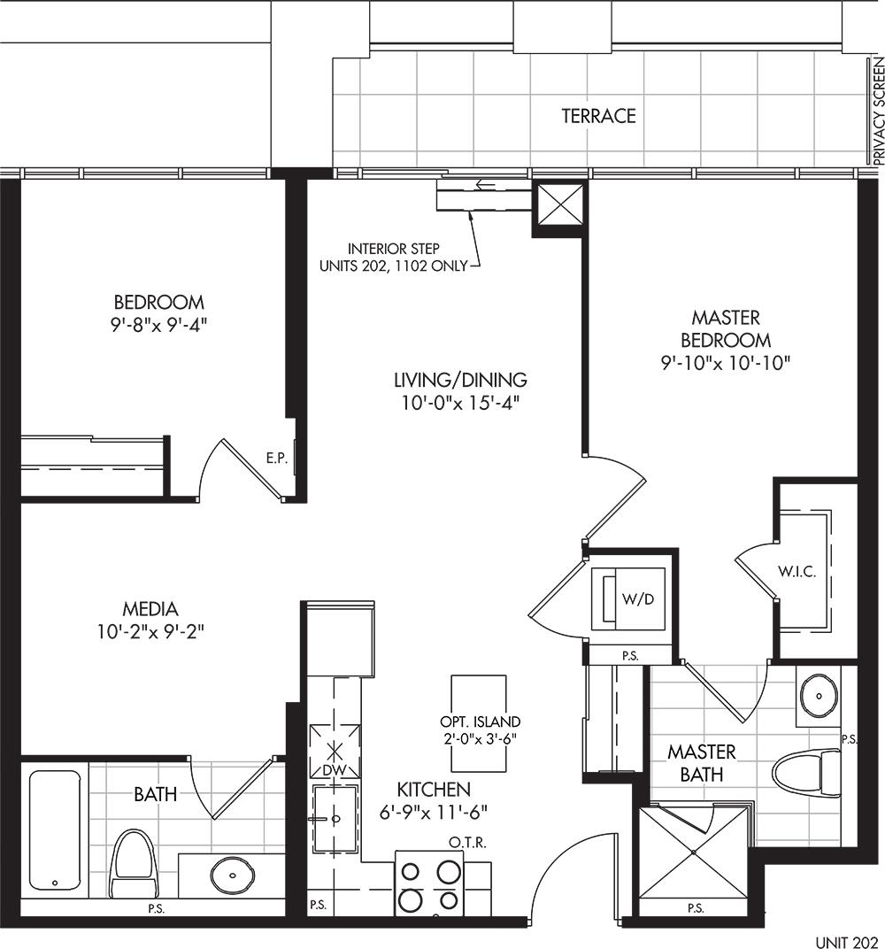 2D-A3 Floorplan 1
