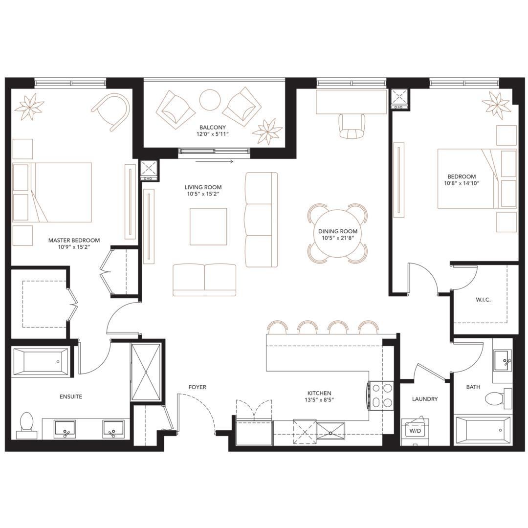 Diana Floorplan 1