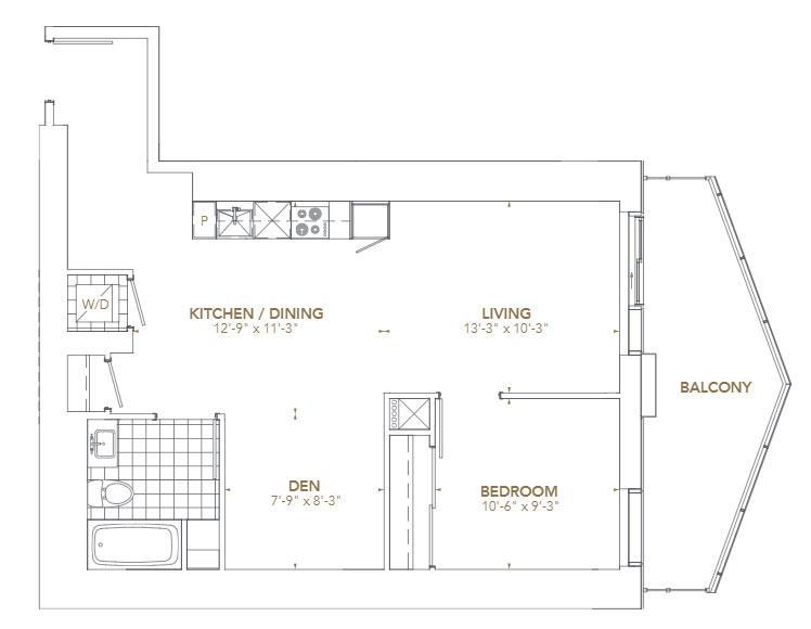 Residence 12 Floorplan 1