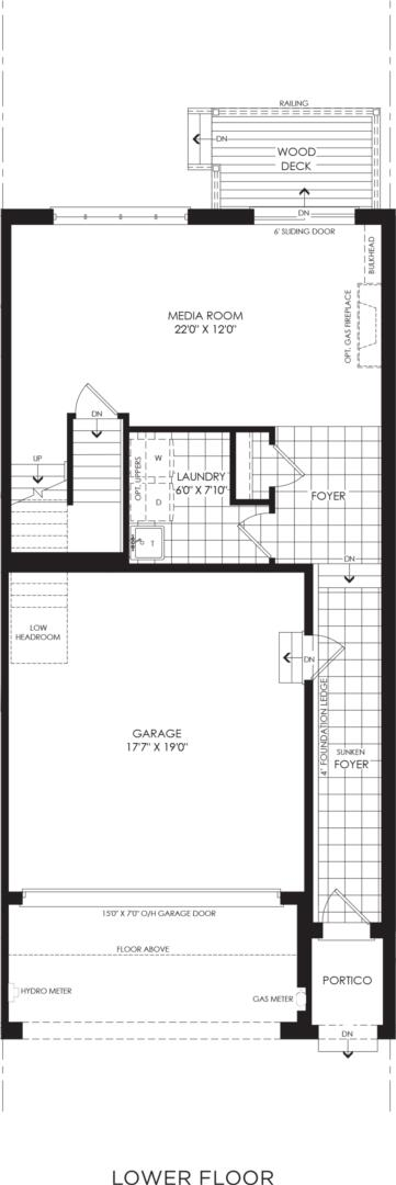 BLOCK 15, ELEV. A1, UNIT 3 Floorplan 1