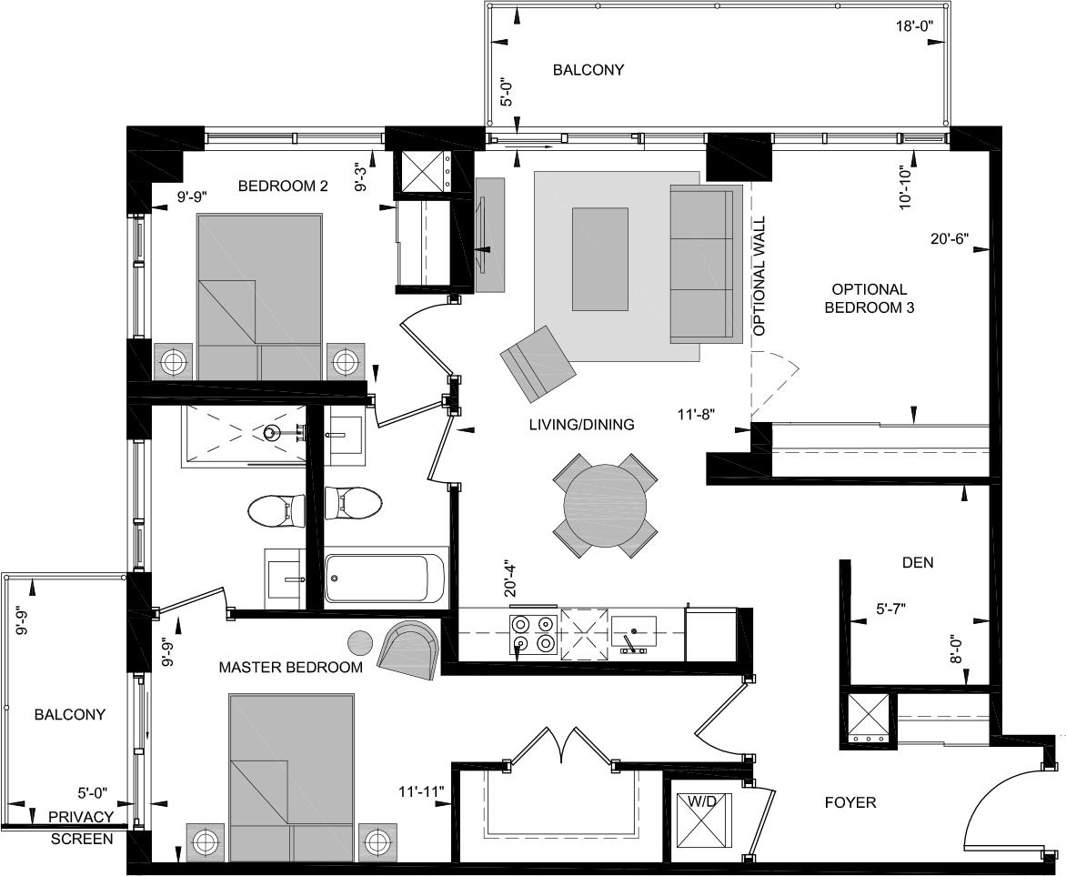 HN3-W Floorplan 1