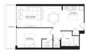 The Broadway Floorplan 1