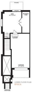 The Sherbrooke Corner Floorplan 1