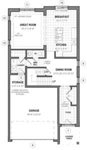 The Elmsgate IV B Floorplan 1