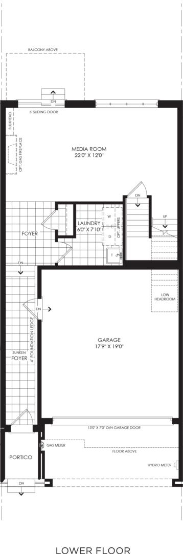 BLOCK 14, ELEV. B1 REV, UNIT 4 Floorplan 1