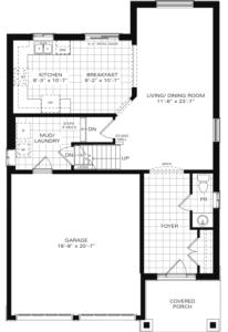 The Henderson II B Floorplan 1