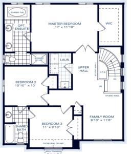 The Carmichael A Floorplan 2