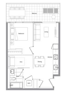 Podium 501 Floorplan 1