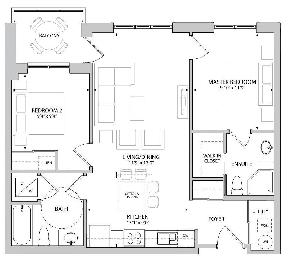The Elmley Floorplan 1