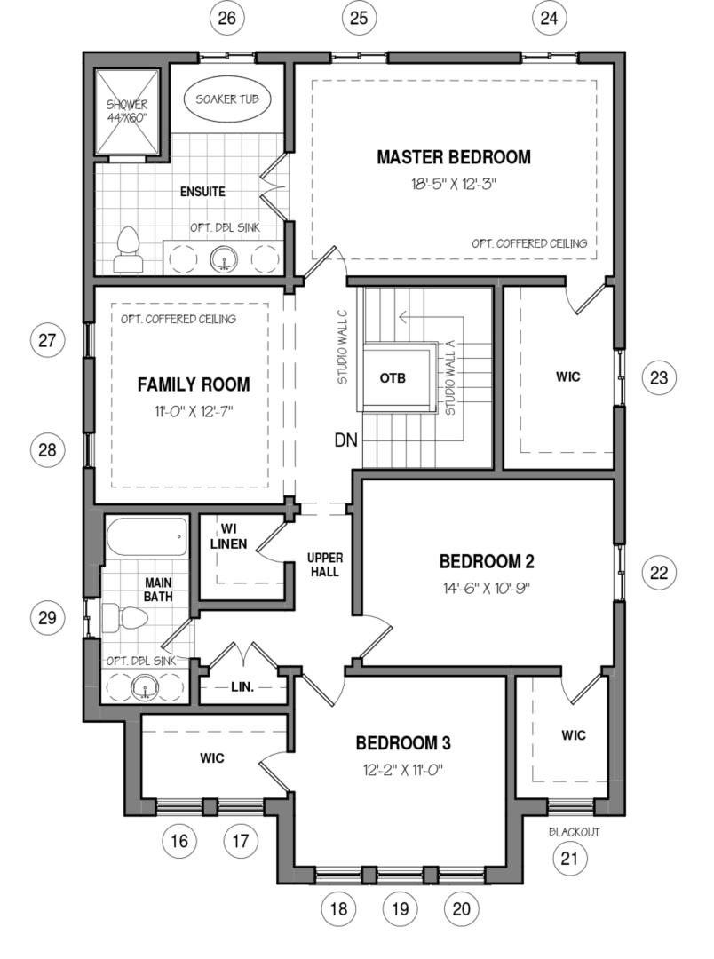 The Able B Floorplan 2