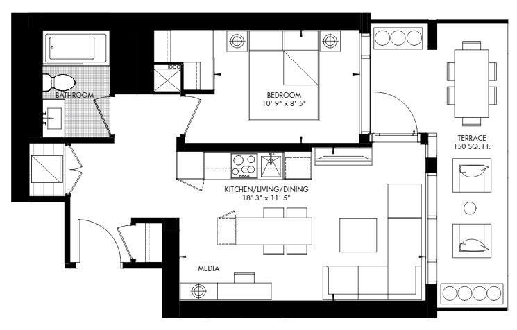 Yorkville 52 Floorplan 1