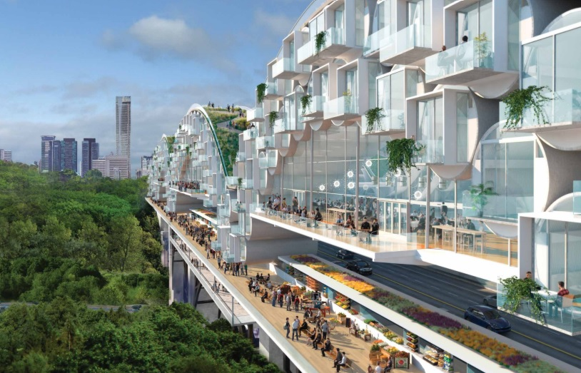 Living Bridge: A potential solution to Toronto's housing supply shortage Image