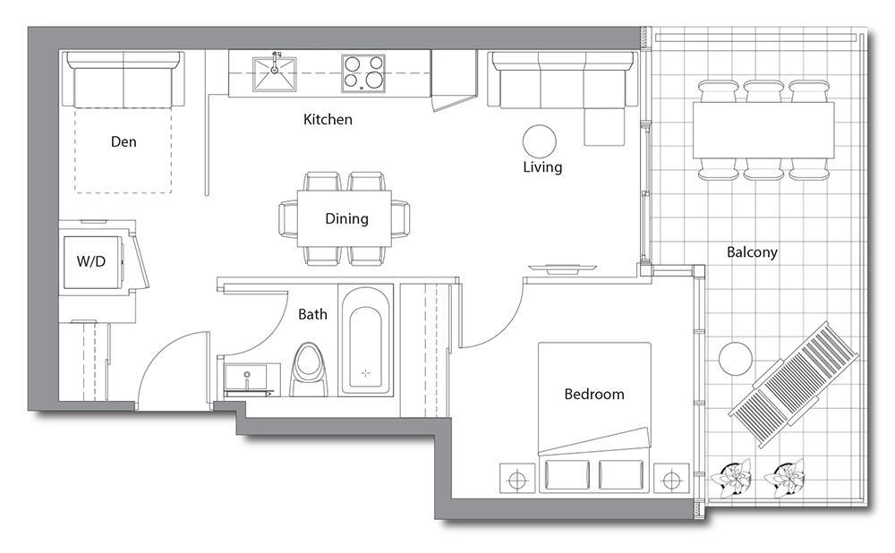 East Tower 01 Floorplan 1