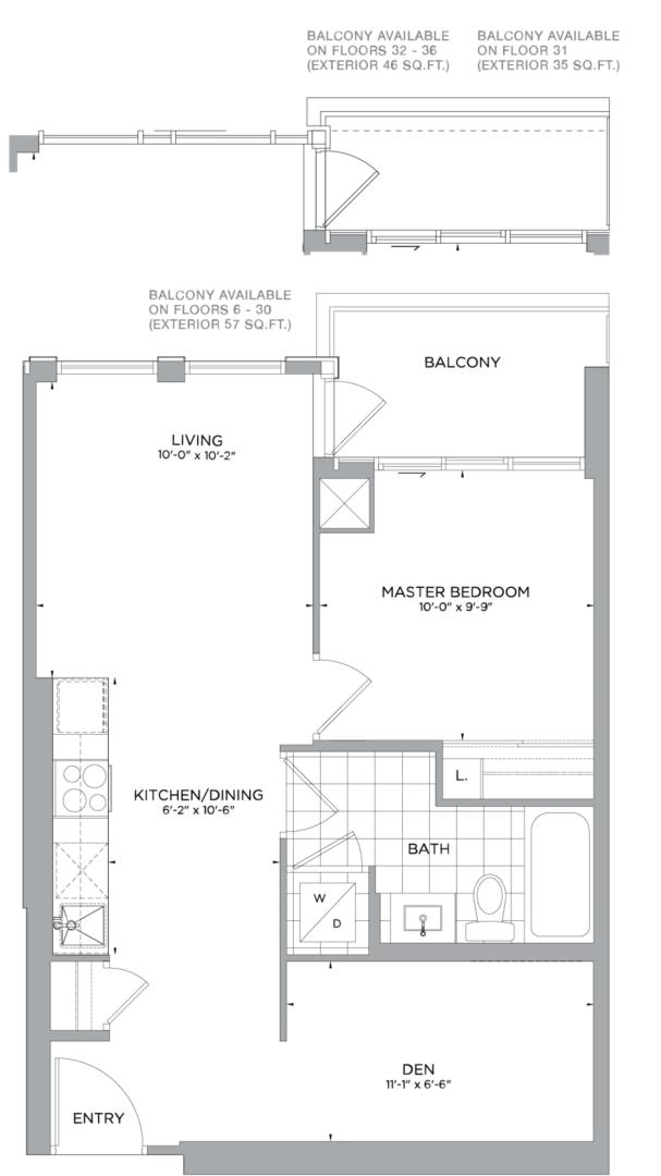 B-584 Floorplan 1