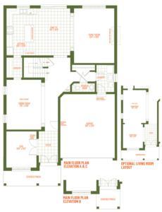 The Castle Floorplan 1