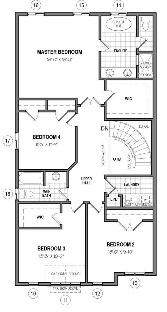The Brockton 34 IV A Floorplan 2