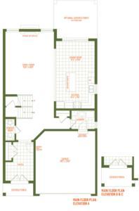 The Waterville Floorplan 1