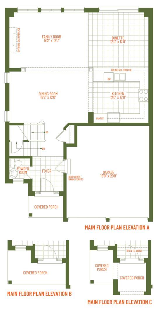 The Pinevally Floorplan 1