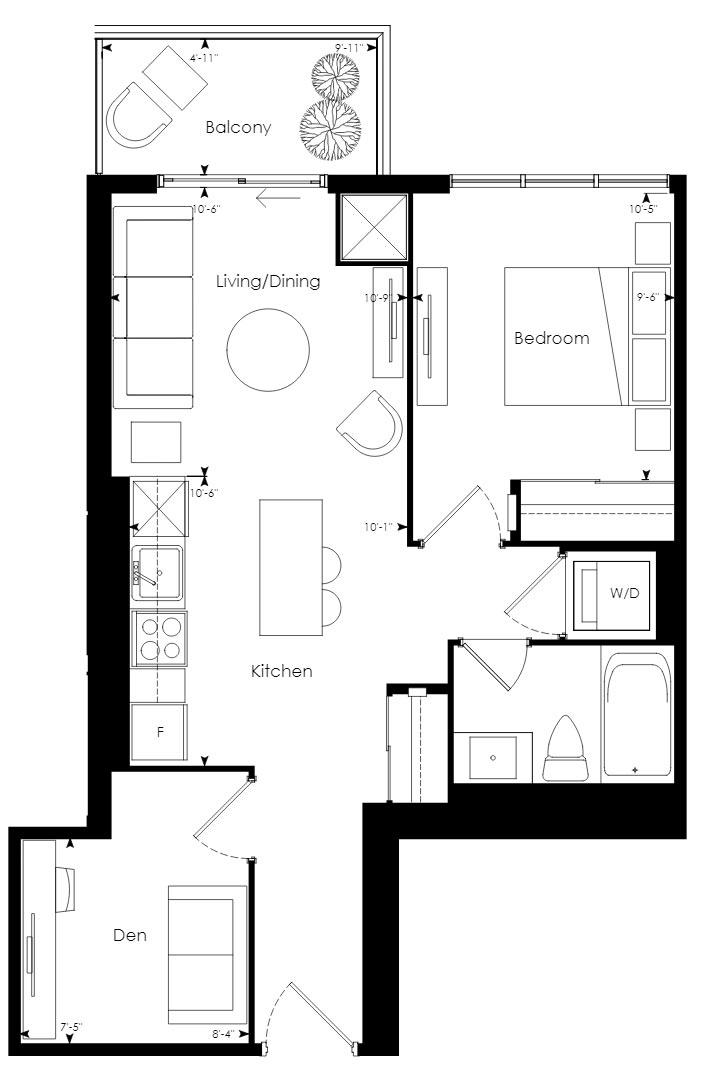 Tower 11 Floorplan 1
