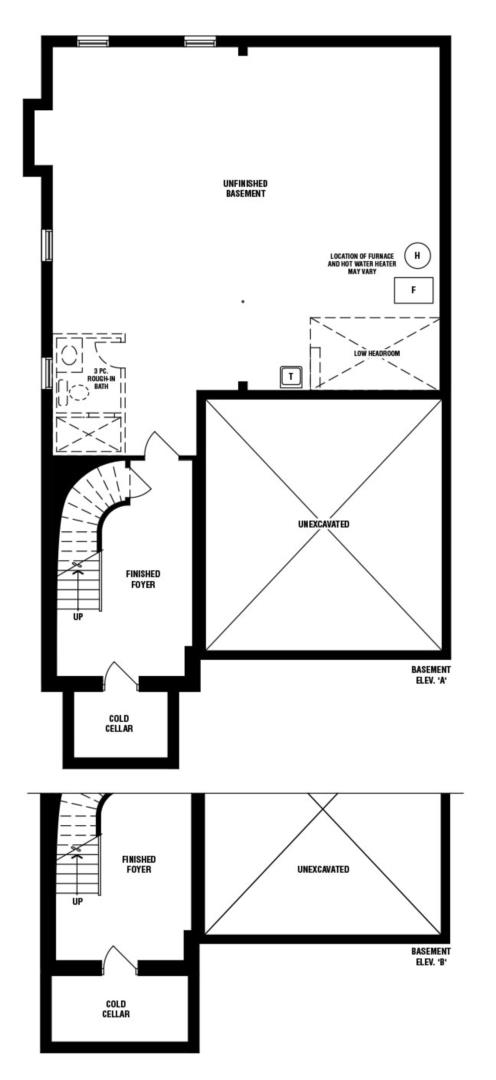 Buffet (B) Floorplan 3