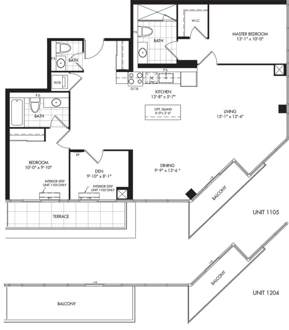 H (BF) Floorplan 1