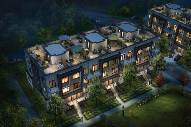 New renderings of EVO Condos + Towns in Scarborough! Image