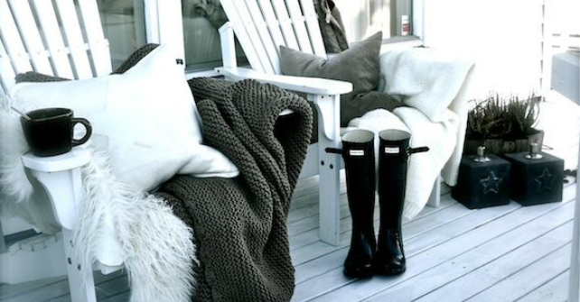 4 tips for creating the perfect winter balcony Image