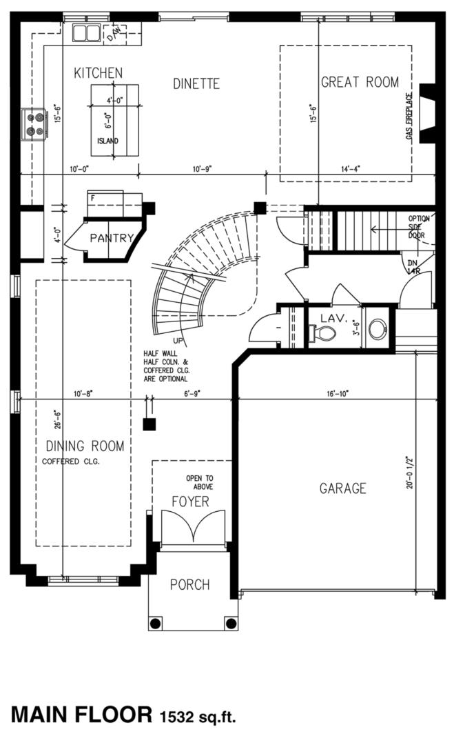 The Brookside Floorplan 1