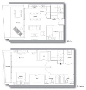 Villa 611 Floorplan 1