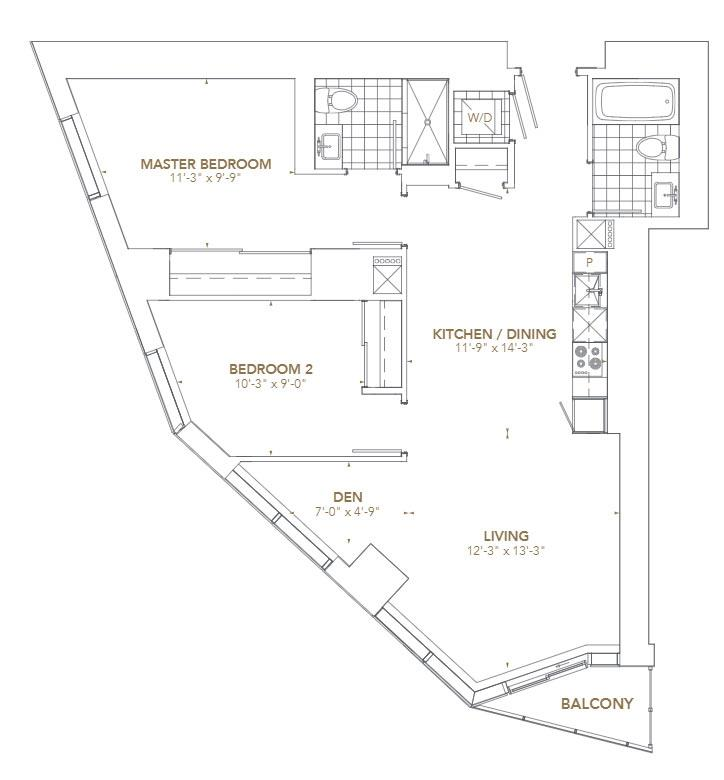 Residence 04 Floorplan 1
