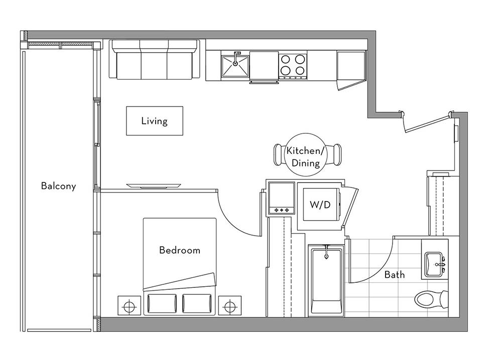 The Lakefront Collection - 005 Floorplan 1