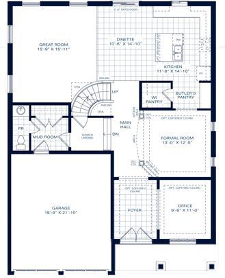 The Medallion II B Floorplan 2