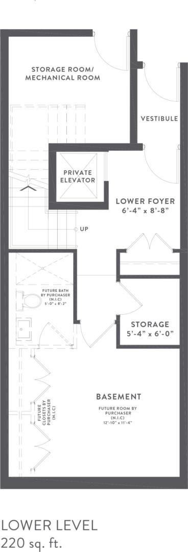 Townhome Collection C Floorplan 1
