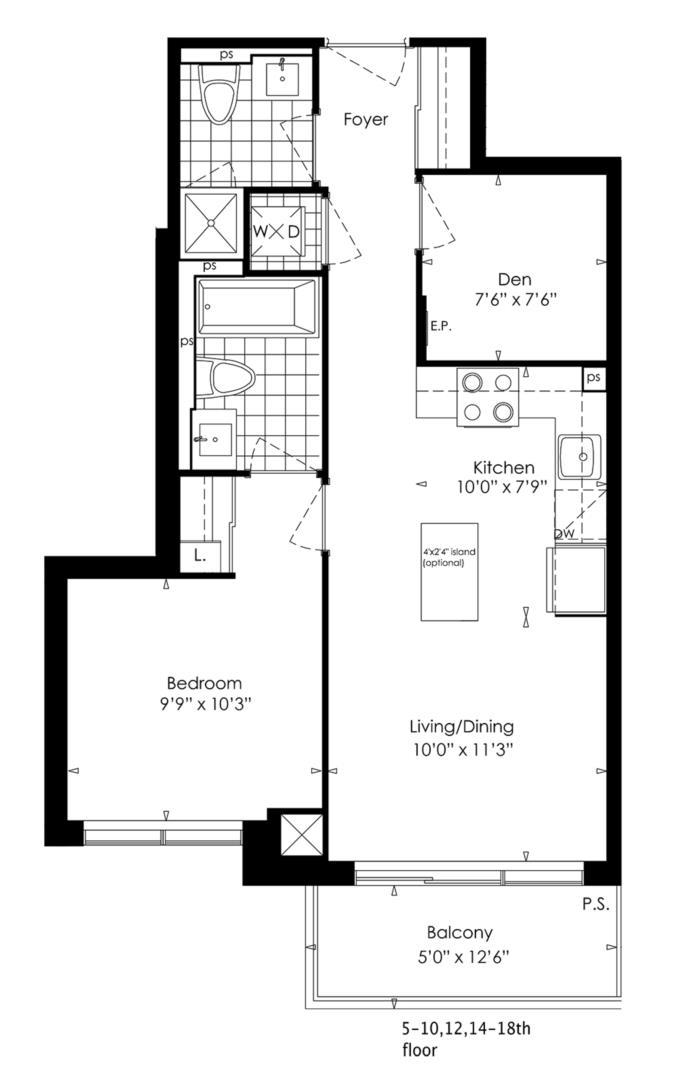 1D+D Floorplan 1