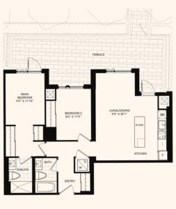 The Charlton Floorplan 1