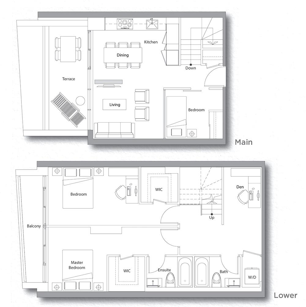 Villa 609 Floorplan 1