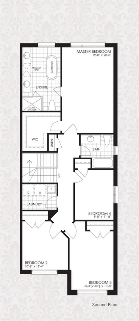 The Cornell Collection - The Cornell 1 Floorplan 2