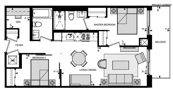 Suite EMSS Floorplan 1
