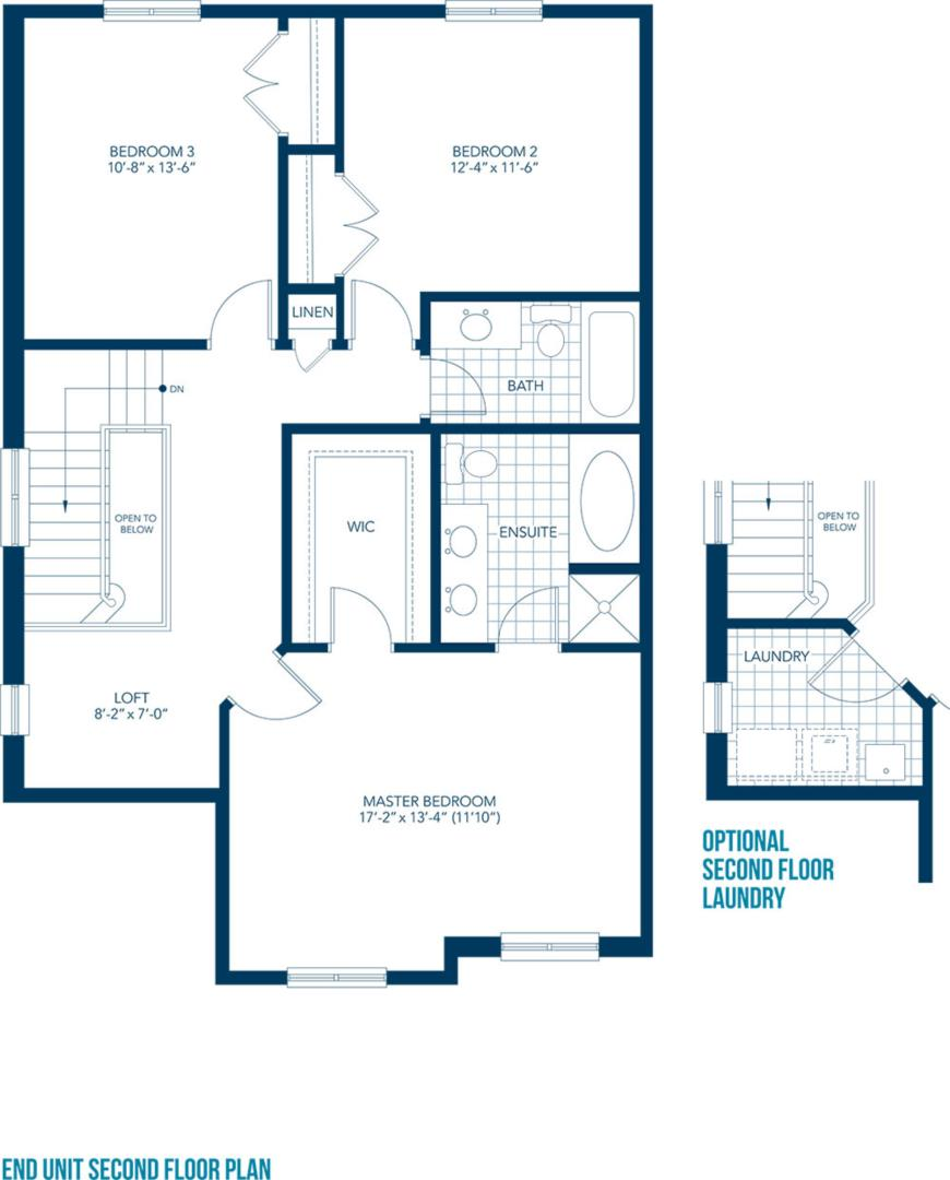 The Siena Floorplan 2