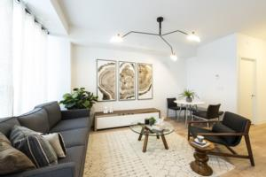Your first look at the furnished model homes at Parc Towns Image
