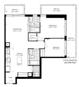2C Floorplan 1
