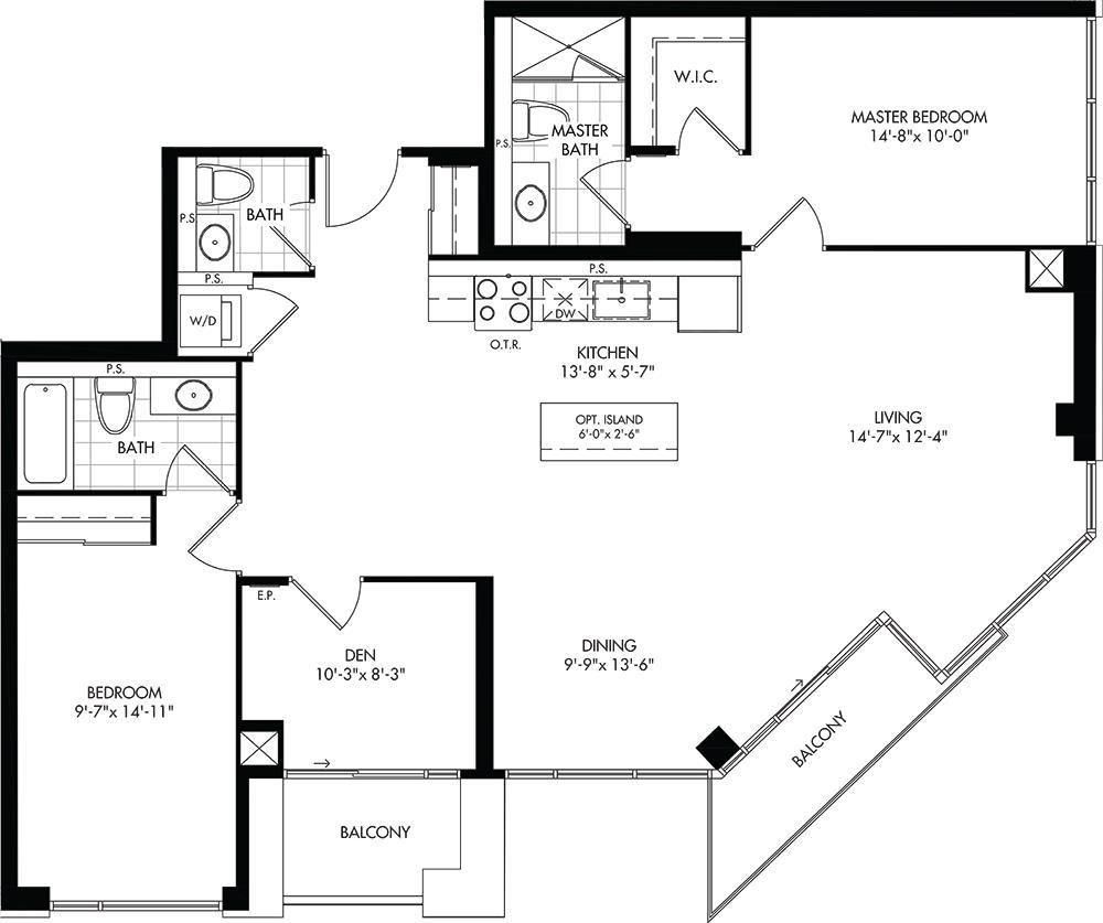 C Floorplan 1